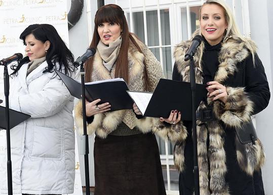 S kolegyněmi z Operas Divas Andreou Kalivodovou a Pavlínou Senič