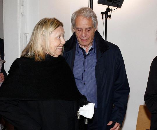 S manželkou Irenou Greifovou