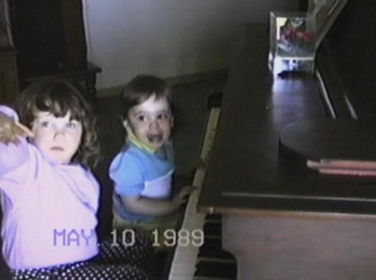 Ke$ha se svým mladším bratrem
