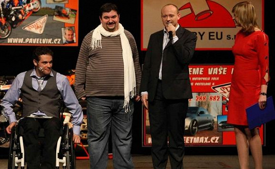 Na jevišti se objevil i režisér a herec Tomáš Magnusek.