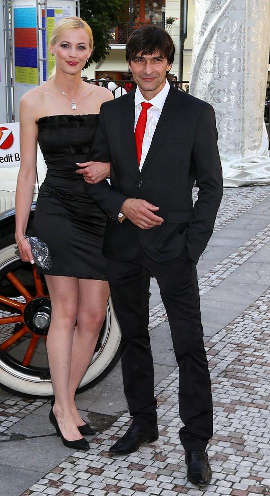 S expartnerkou Ilonou Andrejskovou strávil 7 let.