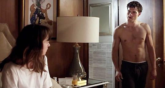 Jamie Dornan jako pan Grey v Padesáti odstínech šedi.