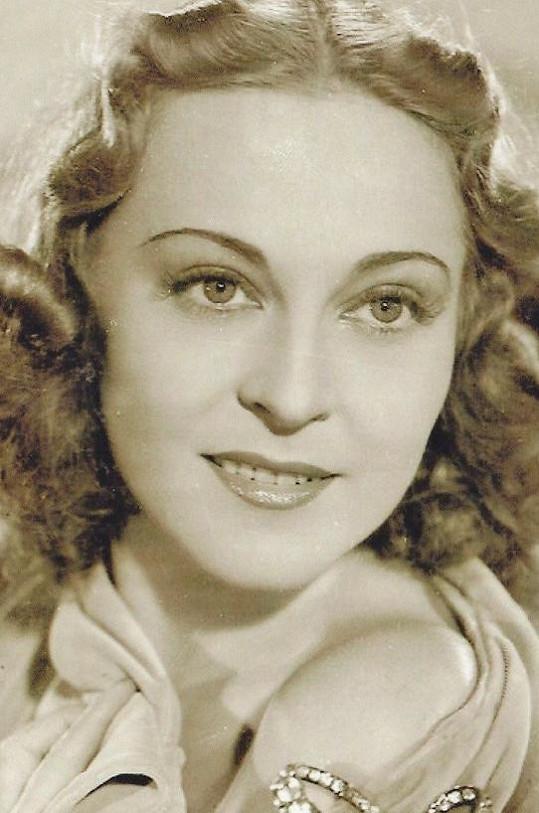 Zita Kabátová patřila za války k nejatraktivnějším herečkám.