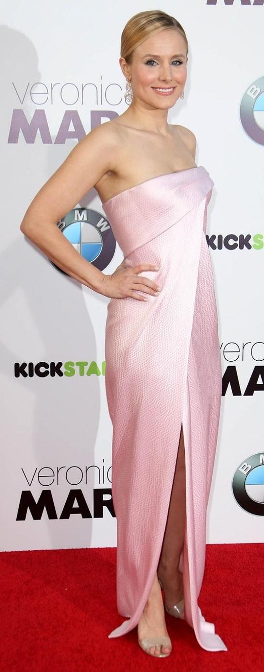 Kristen Bell bude podruhé maminkou.