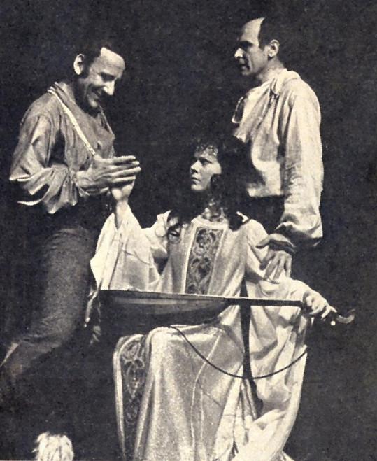 V historickém dramatu Tomáš Becket si zahrála Quendolinu.