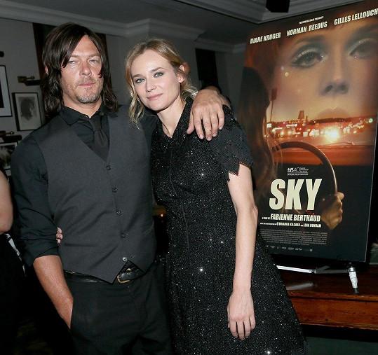 Herci se dali dohromady při natáčení filmu Sky v roce 2015.