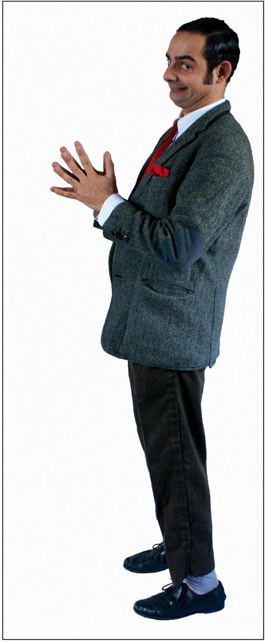 Arnaldo Mangini jako by z oka vypadl britskému herci.