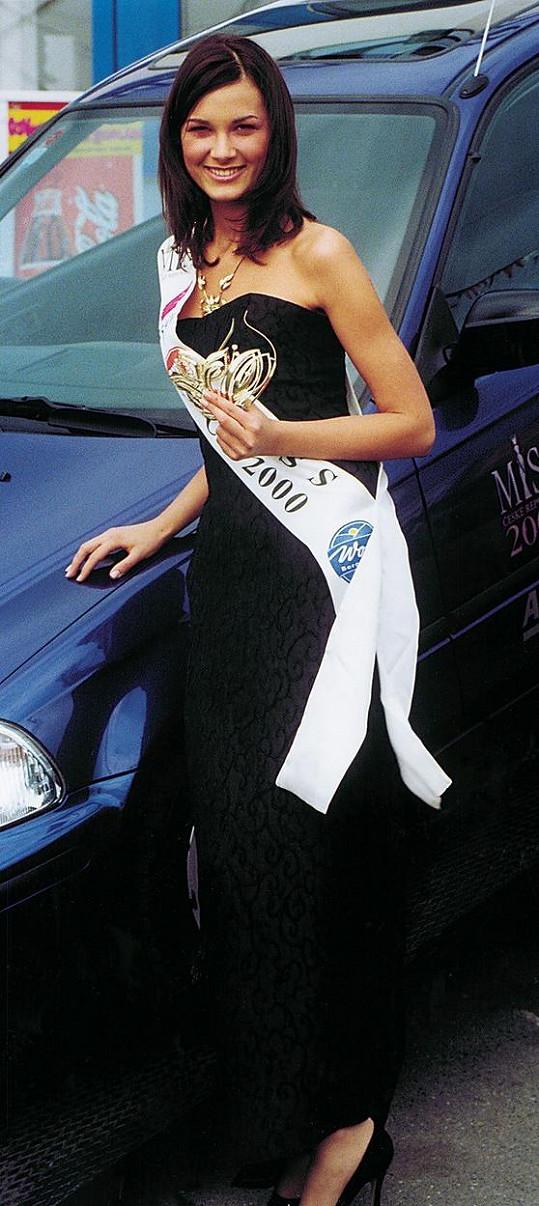 Královnou krásy se Míša stala v roce 2000.