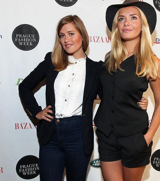 Emma s ambasadorkou letošního ročníku Prague Fashion Weeku Táňou Kuchařovou