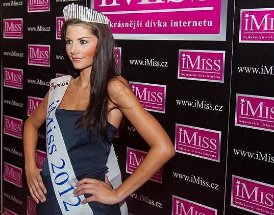 Vítězka iMiss 2012 Nikola Franková.