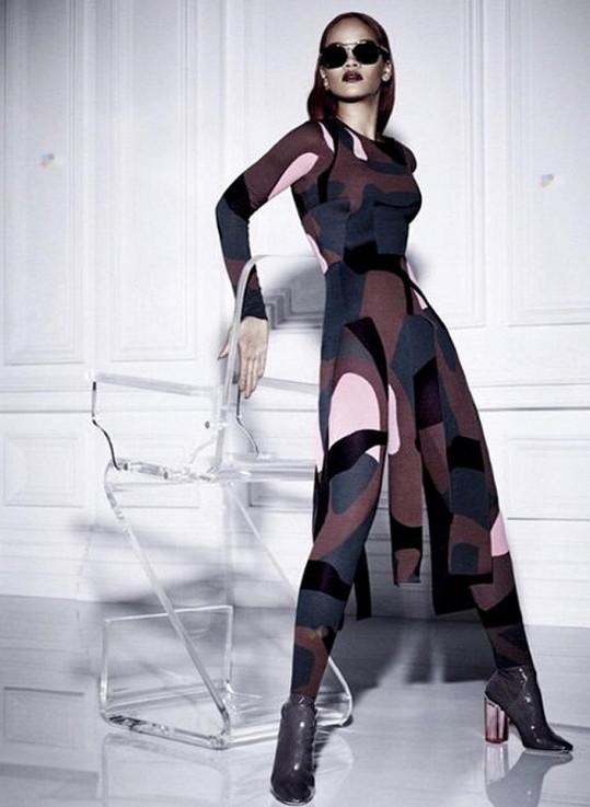 Rihanna pro módní dům Dior