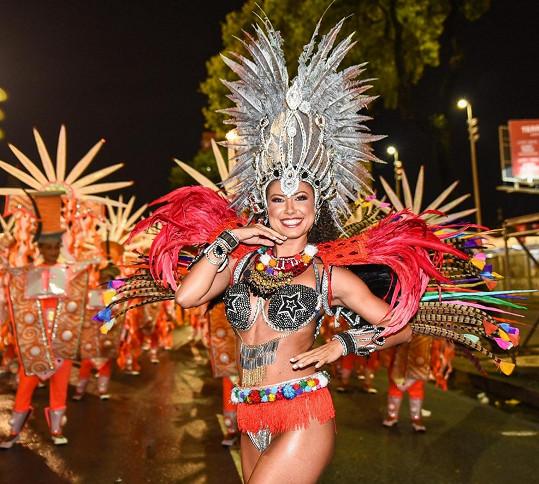 Tanečnice si v Riu splnila svůj sen.