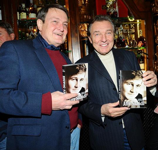 Ladislav Štaidl s Karlem Gottem. Pojilo je velké přátelství.