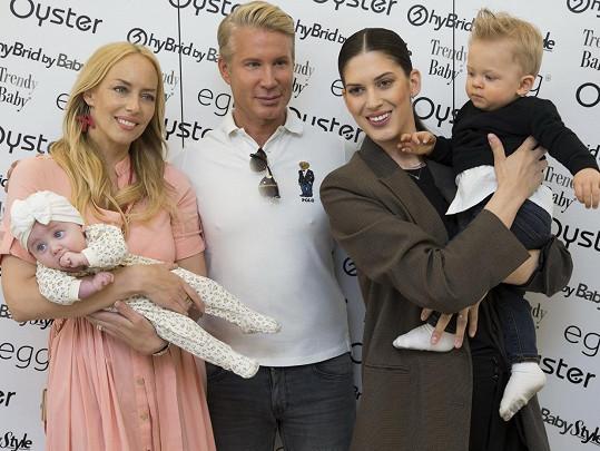 S modelkou Anetou Vignerovou a Robertem Paulatem