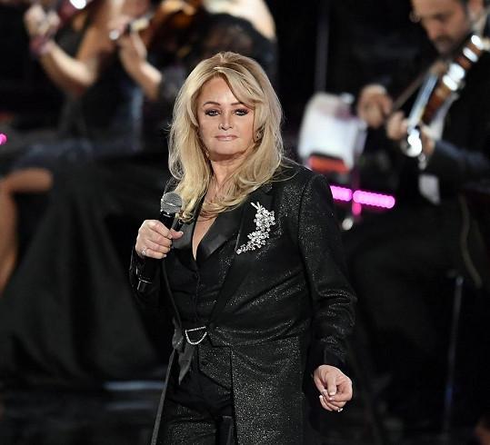 Takhle jí to seklo v prosinci roku 2019 na koncertě ve Vatikánu.