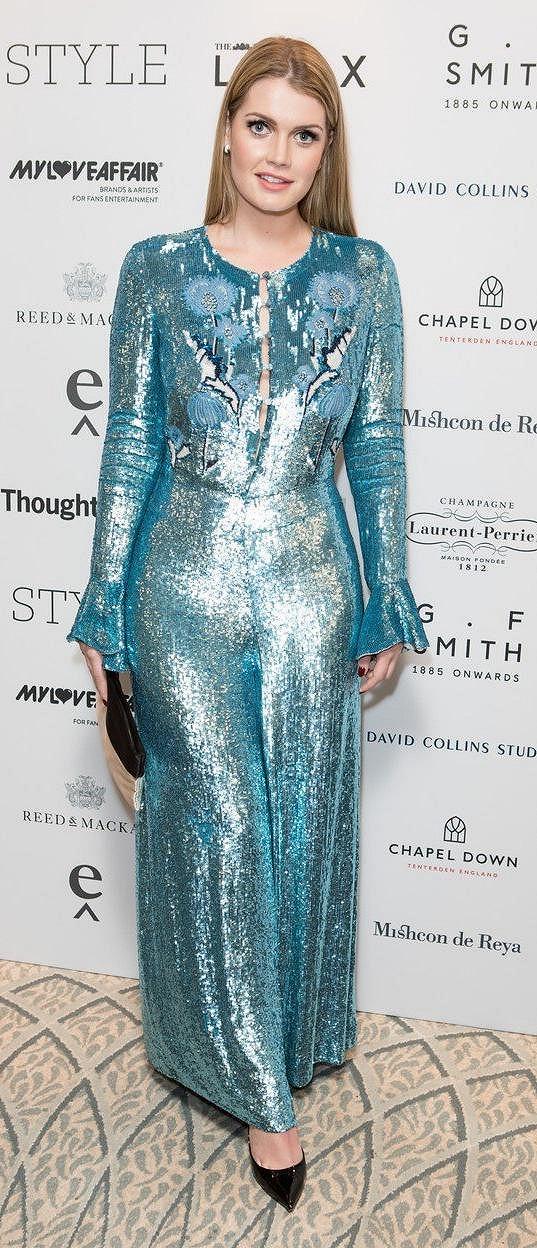 Lady Kitty Spencer na galavečeru Walpole British Luxury Awards