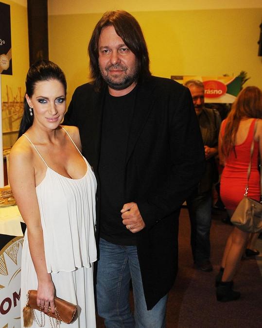 Andrea Pomeje na archivním snímku s Jirkou