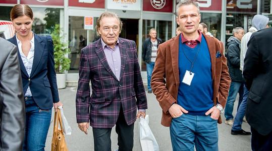 Karel Gott a Aneta Stolzová
