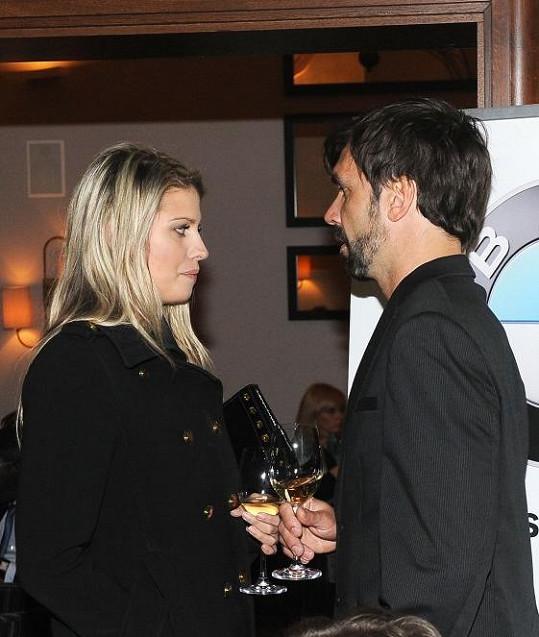 Mezi hosty byla i Tereza Brabcová s přítelem Markem Šíšou.