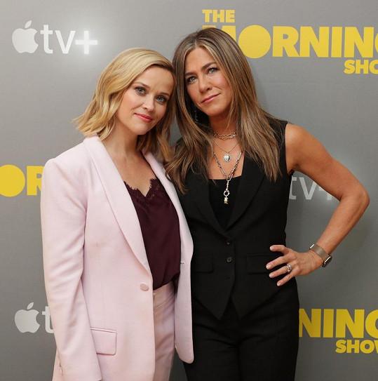 Jennifer Aniston se svou blízkou kamarádkou Reese Witherspoon