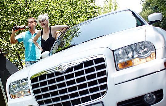 Klára Vytisková se svezla limuzínou.