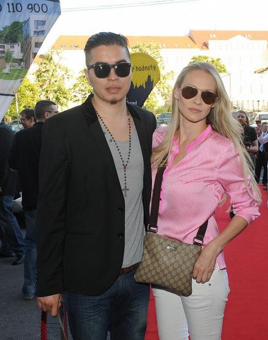 Marcus Tran s přítelkyní Martinou Gavriely
