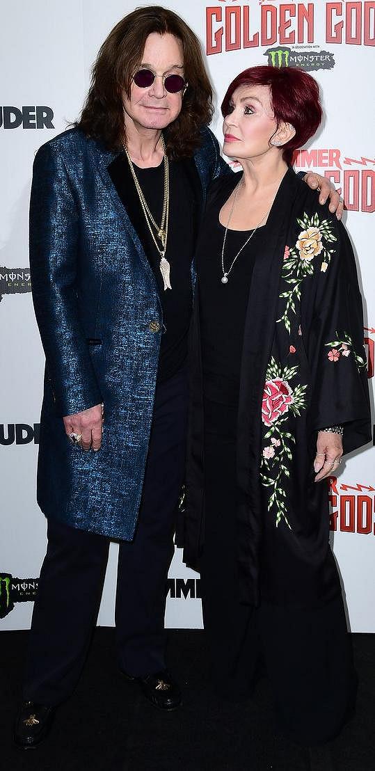 Sharon Osbourne děkovala fanouškům a přátelům za projevenou podporu.