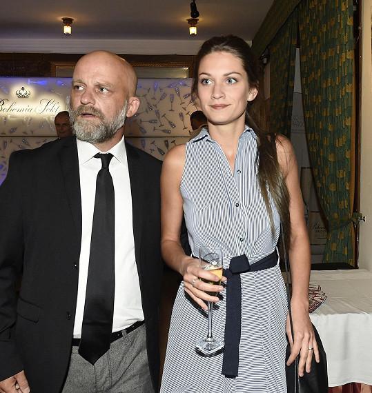 Veronika s manželem Hynkem Čermákem