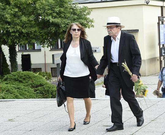 Dorazil také Jaroslav Uhlíř s manželkou.
