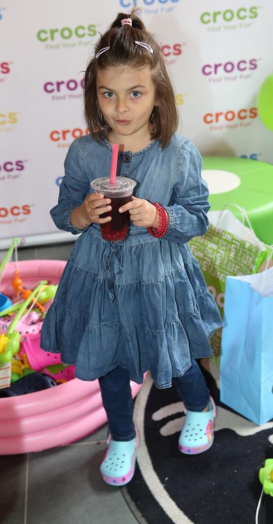 Zuzanka Decastelo už hraje ve dvou seriálech.