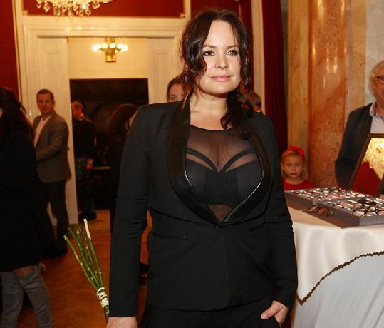 Jitka Čvančarová oslňovala v odvážném modelu.