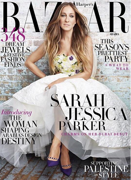 Takhle skvěle vypadá na titulce časopisu.