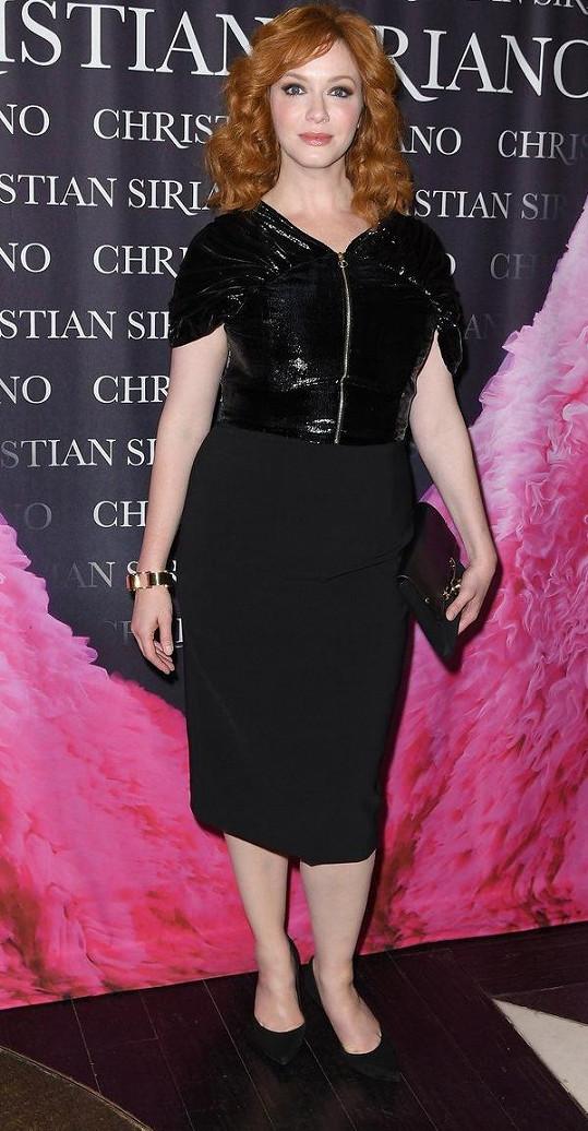 Christina Hendricks jako novodobý sexsymbol