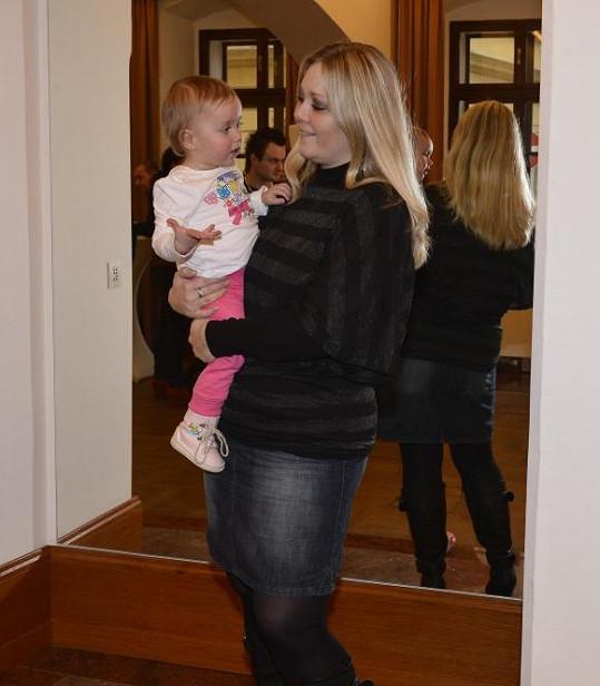Klára s dcerou Valerií.