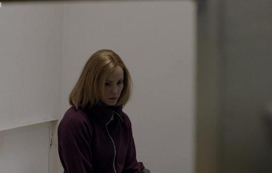 Markéta Plánková skončila ve vězení. Naštěstí jen v seriálu Mordparta.