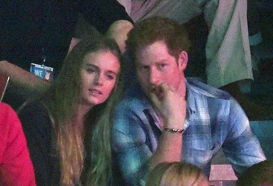 S princem Harrym strávila tři a půl roku.
