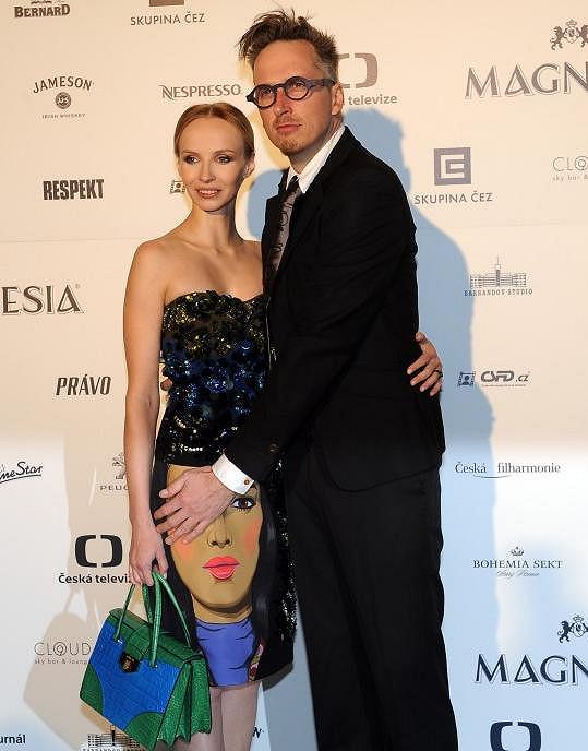 Jana s partnerem Filipem Žilkou
