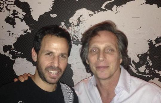 Hollywoodský herec se během návštěvy restaurace vyfotil s šéfkuchařem.