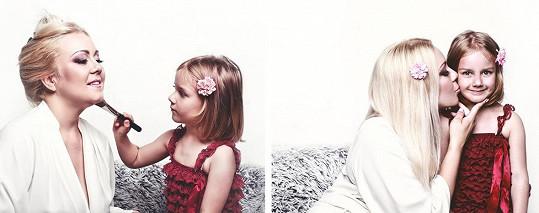 Malá slečna je zpěvaččino největší štěstí.