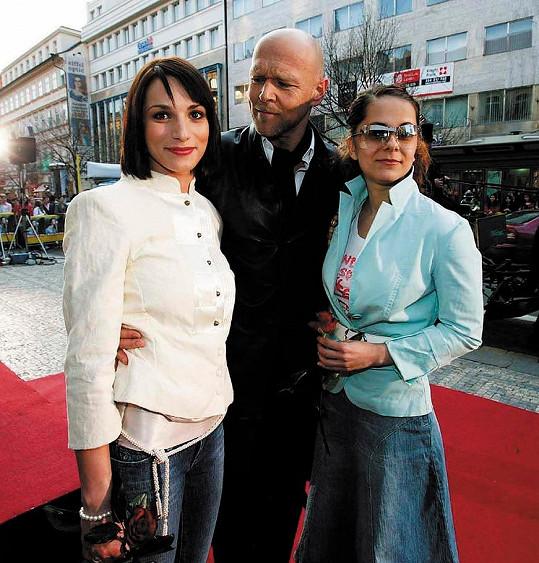 Kanócz s kolegy z Románu pro ženy Markem Vašutem a Laďkou Něrgešovou v roce 2005