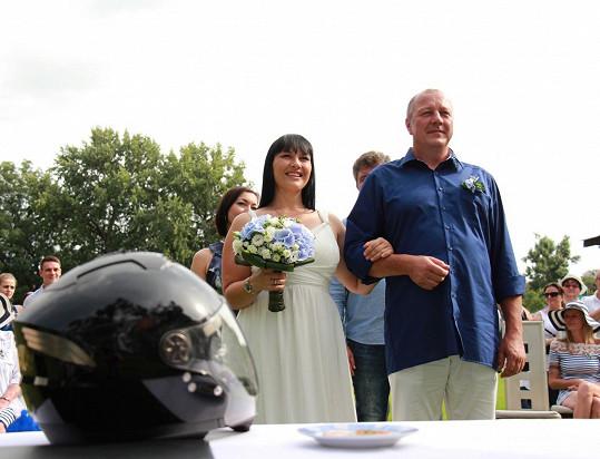 Jana Rychterová a Michael Melíšek