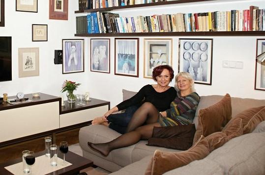Na návštěvě Petra přivítala MUDr. Ivanu Němečkovou, na jejíž pražské klinice se nechává zkrášlovat.