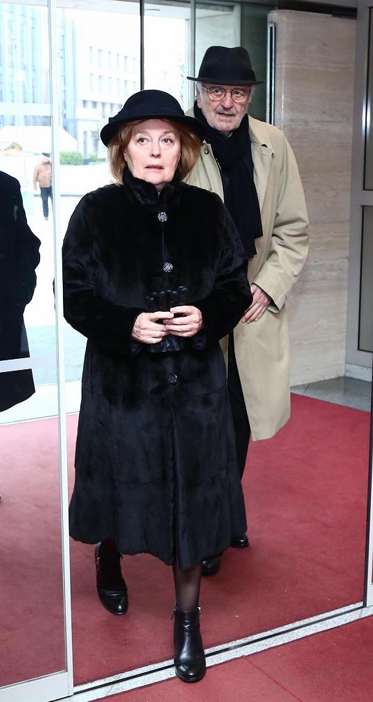 Magda Vášáryová s Milanem Lasicou