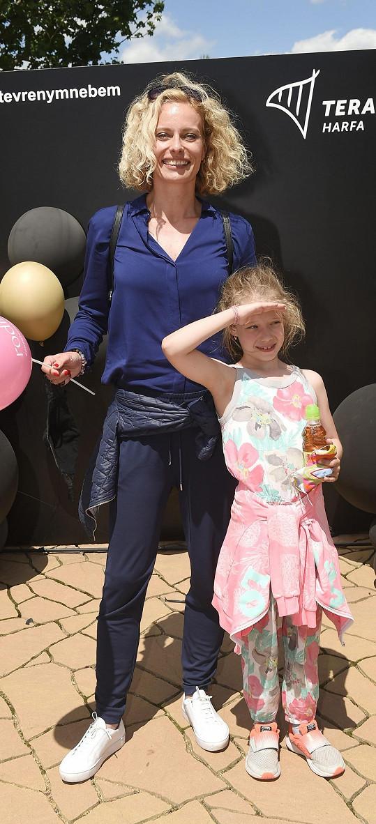Kloubková je ráda, že karanténu mají za sebou a už se s dcerou nemusí učit.
