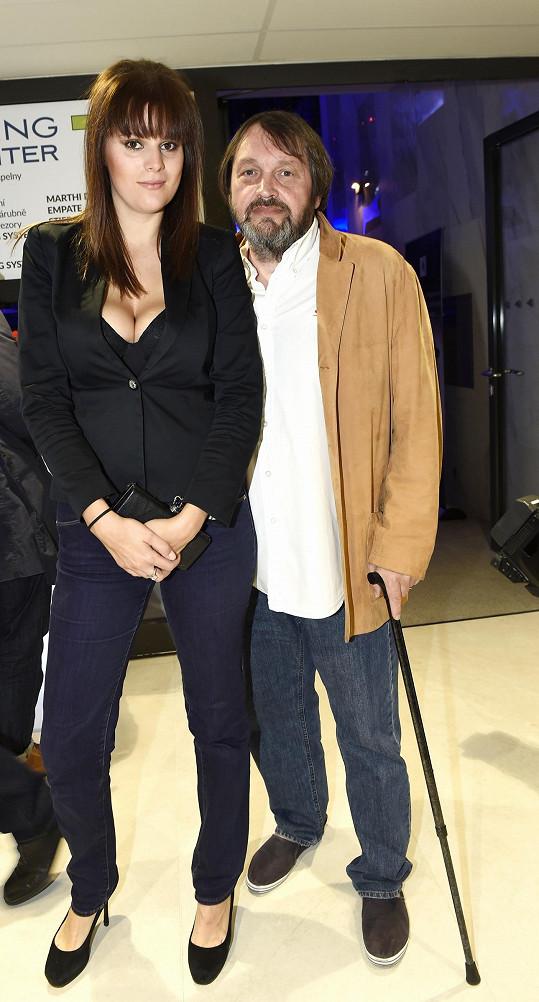 Ornella Koktová vyrazila po dlouhé době do společnosti s manželem Pepou Koktou.