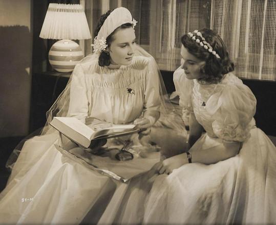 Stella Májová ve filmu Artur a Leontýna (1940)