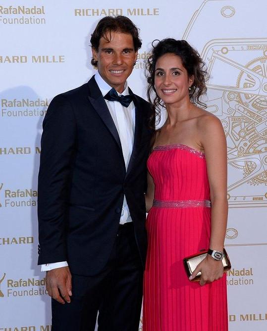 Rafael Nadal se po 14 letech vztahu zasnoubil s Mery Franciscou Perelló.