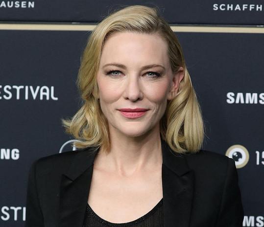 Cate Blanchett se stala padesátnicí 14. května.