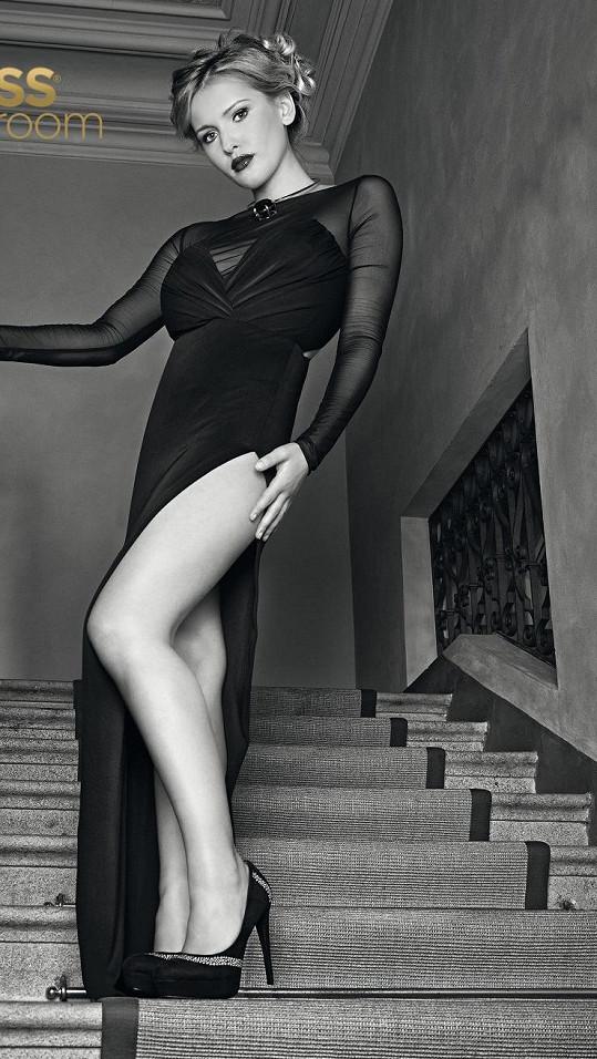Bartošová má krásné nohy.