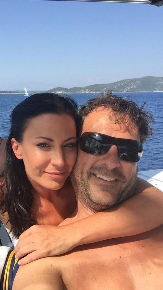 Romantická dovolená Gábiny a Daniela po Chorvatsku.